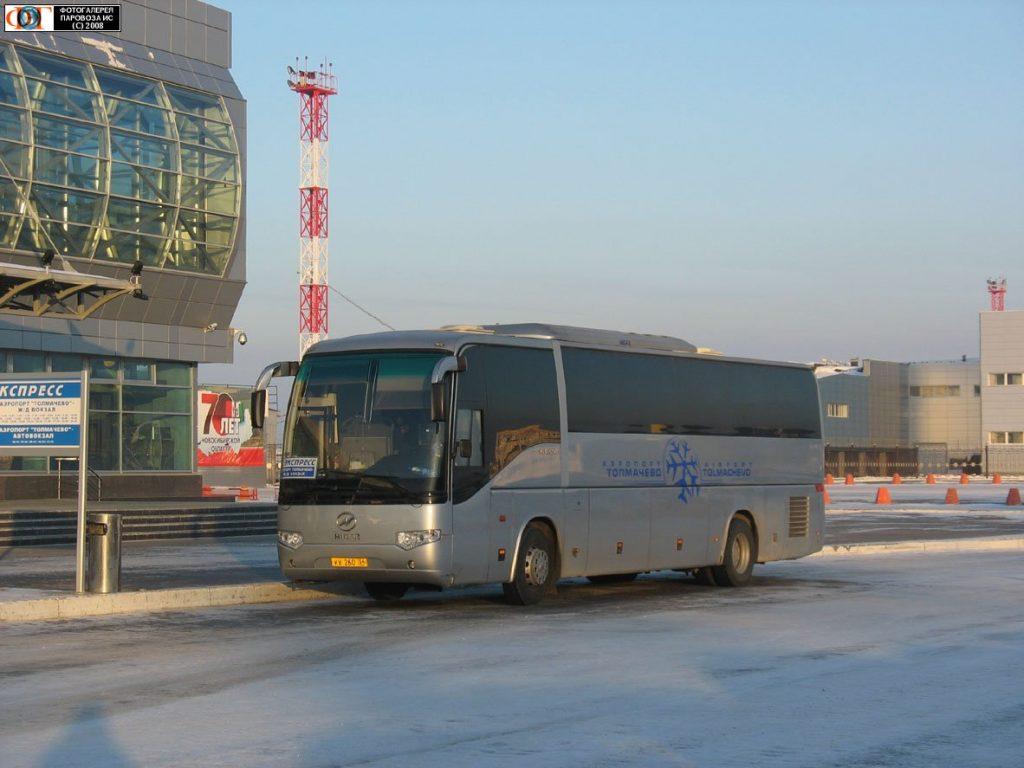 Шаттлы в аэропорт Новосибирска