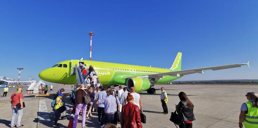 Большая распродажа S7 — направления из Новосибирска